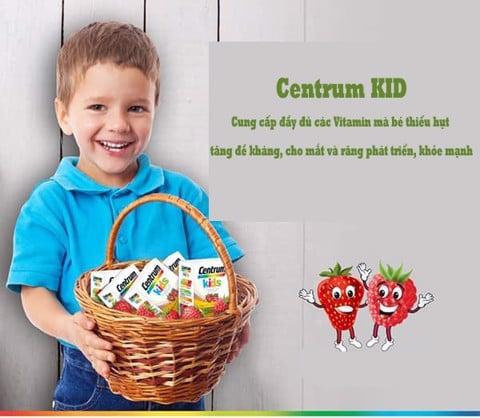 Centrum kids Úc vị dâu sự lựa chọn hoàn hảo cho bé