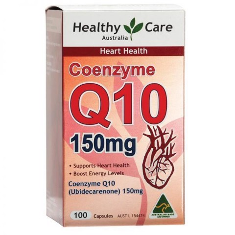Healthy Care Coenzyme Q10 mẫu cũ