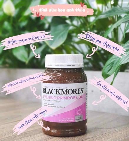 Công dụng Viên uống tinh dầu hoa anh thảo Blackmores