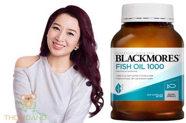 Viên uống dầu cá Blackmores cho làn da khỏe đẹp