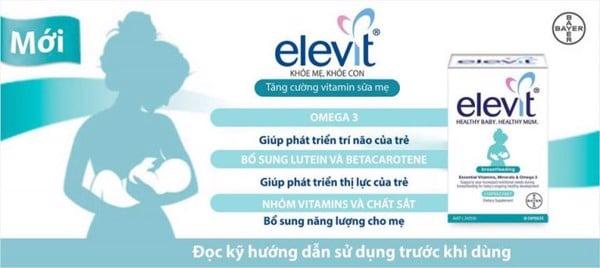 Công dụng của Elevit bú