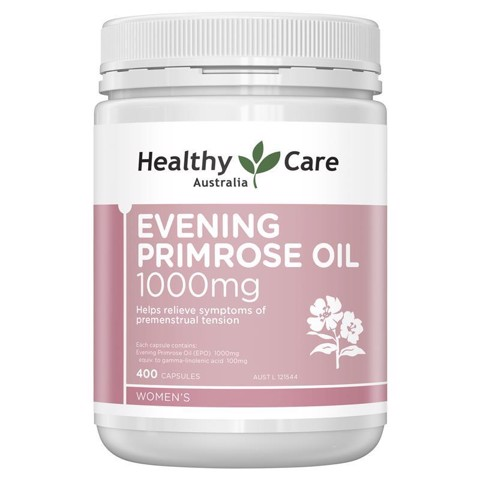Tinh dầu hoa anh thảo Healthy Care MẪU MỚI NHẤT