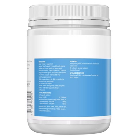 Thành phần của Healthy Care Fish Oil