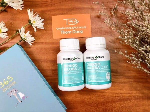 bổ não ginkgo biloba healthy care