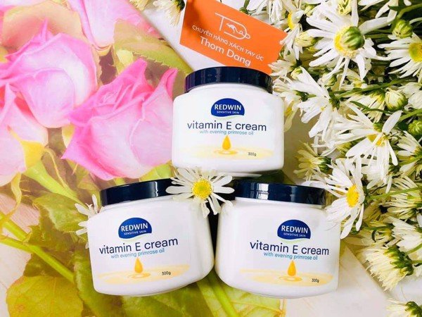 Redwin Vitamin E Cream with Evening Primrose Oil 300g Úc