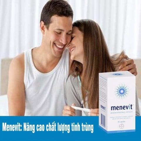 Menevit nâng cao chất lượng tinh trùng