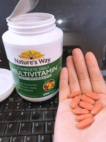 Cách dùng Nature's Way Multivitamin Úc