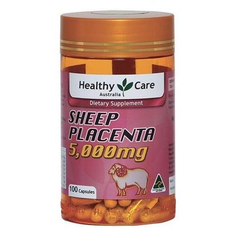 Nhau thai cừu Úc Healthy Care mẫu cũ