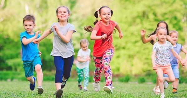 Giúp trẻ năng động và phát triển tốt hơn mỗi ngày