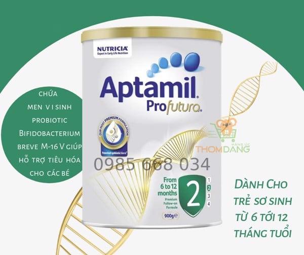 Công dụng và thành phần của aptamil 2