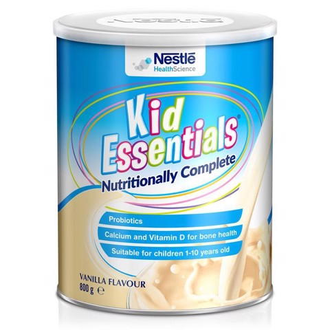 Sữa Kid Essentials Úc 800g vị Vani cho trẻ biếng ăn từ 1-10 tuổi