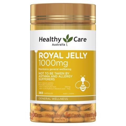 Sữa ong chúa Royal Jelly Healthy Care Mẫu mới nhất