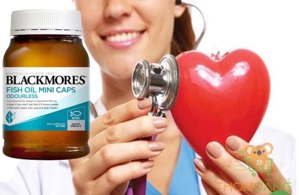Dầu cá Blackmores bảo vệ tim mạch, tránh đột quỵ