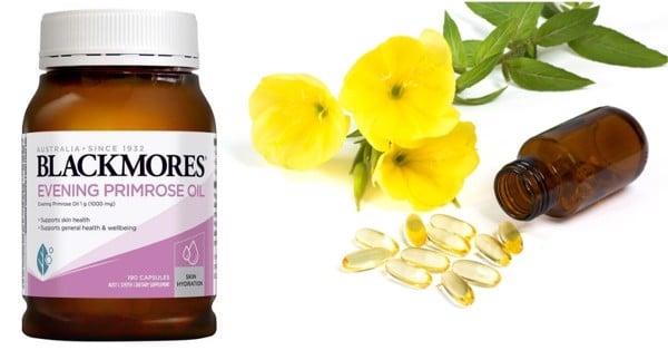 Tinh dầu hoa anh thảo mẫu mới Blackmores Úc 190 viên