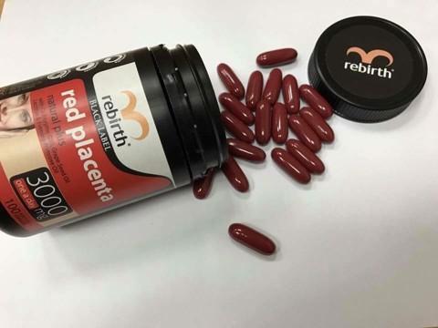 Hướng dẫn sử dụng viên uống nhau thai cừu Úc Rebirth Black Label Red Placenta Natural Plus 3000 mg