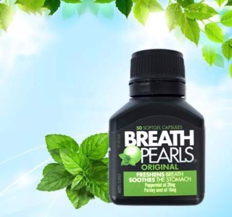 Sản phẩm giúp hơi thở thơm mát và răng miệng chắc khỏe