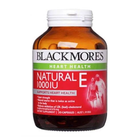Vitamin E Blackmores Vitamin E 1000IU