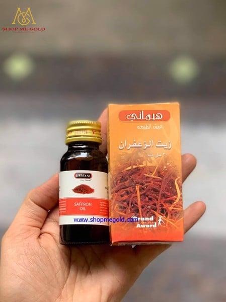 Tinh dầu nhụy hoa nghệ tây Saffron Oil  là phương thuốc hữu hiệu cho người bị bệnh đường hô hấp, hen suyễn, ho, đau họng, giúp long đờm, trị viêm.