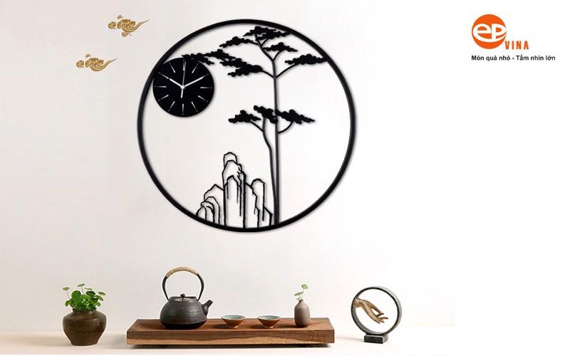 Đồng hồ treo tường trang trí của EPVINA luôn làm hài lòng mọi khách hàng