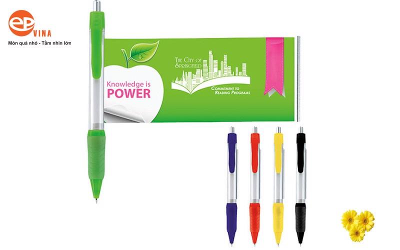 Bút banner sản phẩm quà tặng đa năng, quảng bá thương hiệu hiệu quả