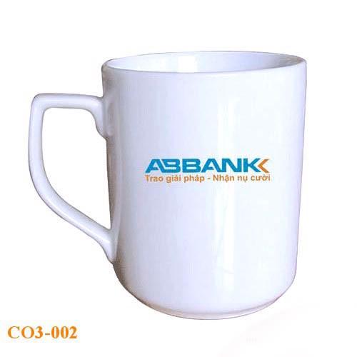 Cốc sứ  ngân hàng APBANK