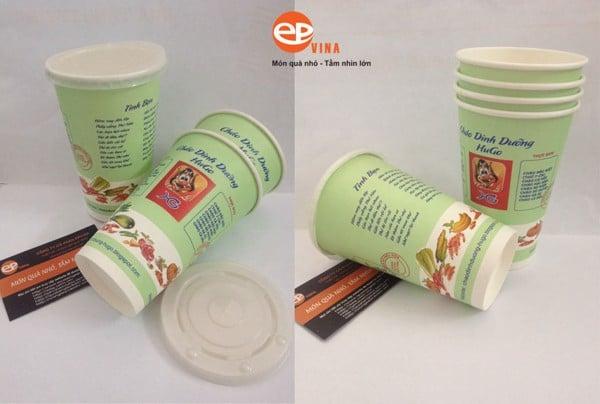 cốc giấy đựng cháo dinh dưỡng