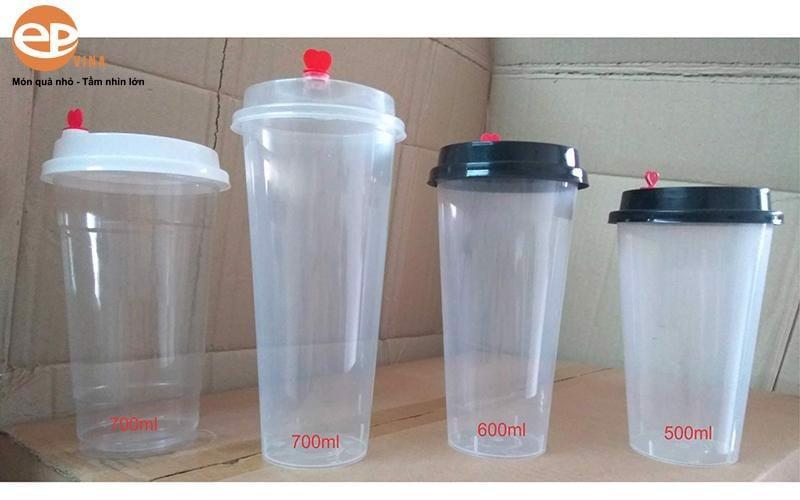EPVINA bán cốc nhựa trà sữa giá rẻ nhất tại Hà Nội