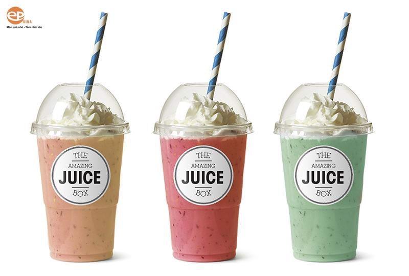 Cốc nhựa size M được dùng phổ biến nhất trong tất cả các cửa hàng đồ uống