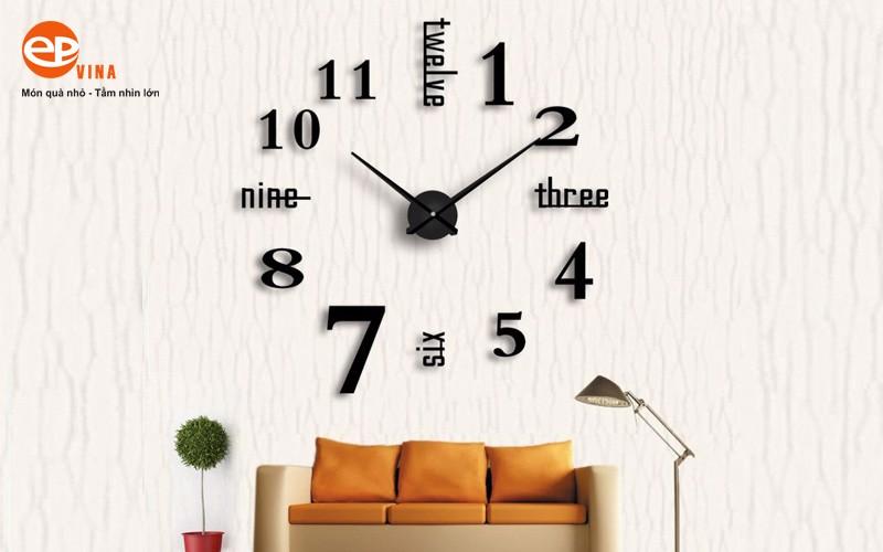 Đồng hồ treo tường trang trí đẹp