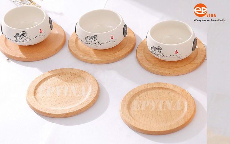 Mua lót ly gỗ ở Hà Nội tại EPVINA chất lượng, giá cạnh tranh, mẫu mã đẹp