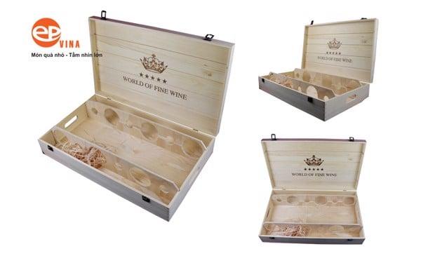 mua hộp gỗ đựng rượu vang