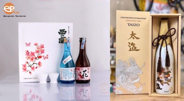 hộp quà rượu sake 2