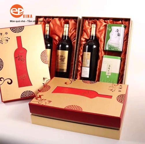 Hộp rượu quà tặng