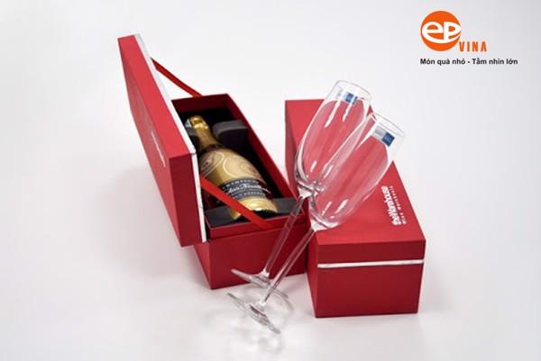 hộp rượu quà tặng giấy đơn