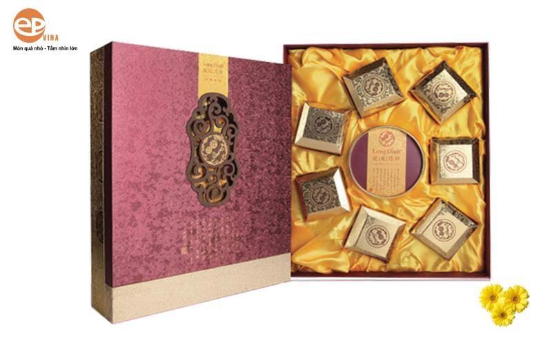 Hộp quà tặng bánh trung thu được thiết kế và in ấn bắt mắt