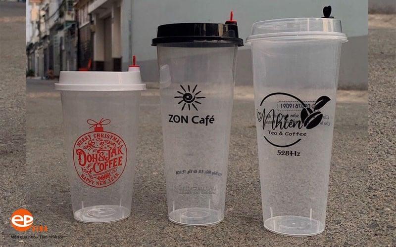 Kích thước ly nhựa