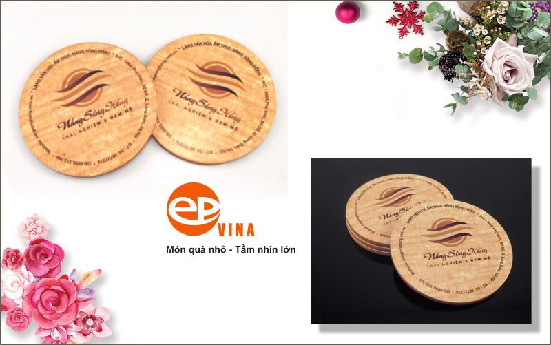 Lót ly gỗ tại Hà Nội - sản phẩm đang được yêu thích nhất hiện nay