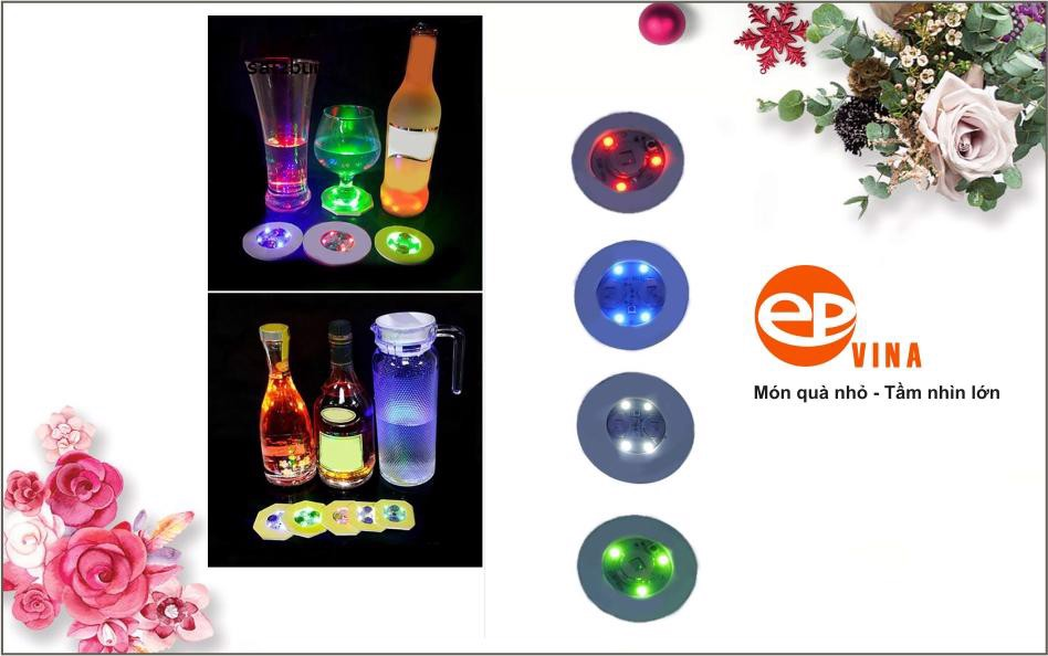 Lót ly phát sáng phù hợp với nhiều mục đích sử dụng khác nhau