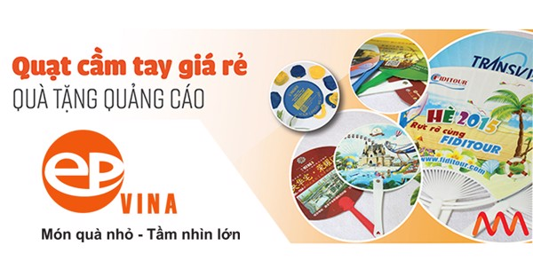 quạt nhựa quảng cáo tại Hà Nội