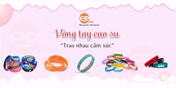 sản xuất vòng đeo tay cao su