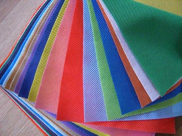 túi sinh thái nhiều màu sắc
