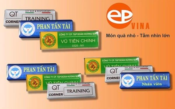 Miễn phí thiết kế bảng tên nhân viên tại EPVINA
