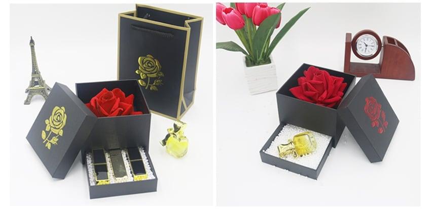 Hộp quà tặng đựng hoa hồng