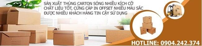 In thùng carton Hà Nội