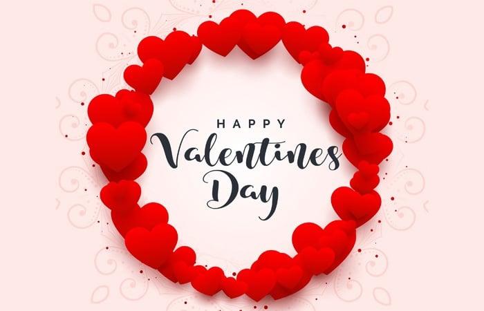 Mẫu thiệp Valentines Day