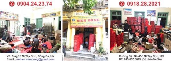 Xưởng sản xuất hộp giấy Hà Nội