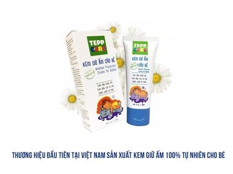 Kem giữ ấm Tepp Care