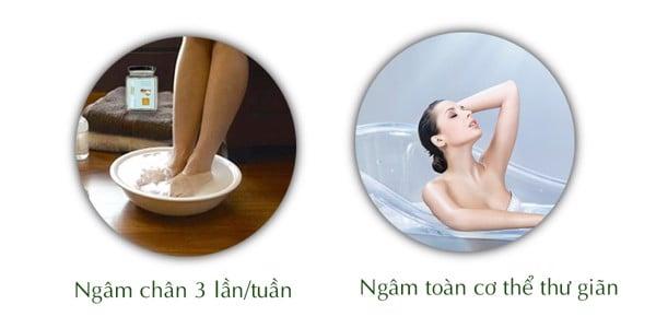 cách dùng muối epsom, muối epsom ướp quế gừng cách sử dụng