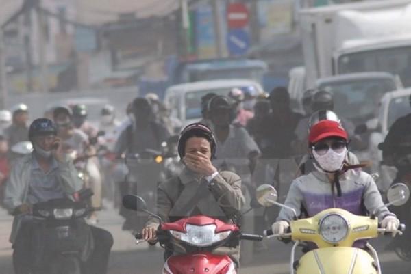 môi trường khói bụi, ô nhiễm không khí