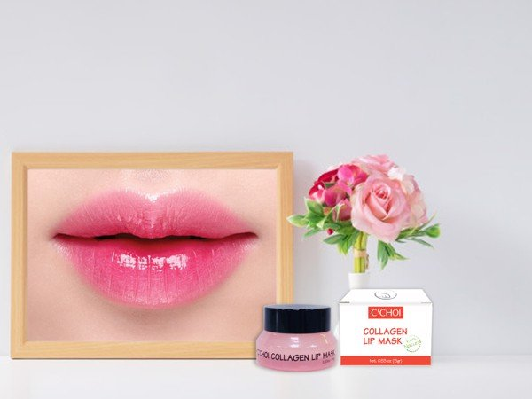 ủ môi collagen
